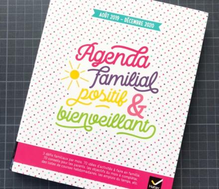 Agenda familial positif & bienveillant