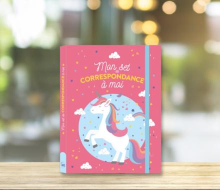 Mon set de correspondance à moi – Licornes