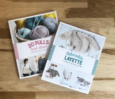 Adorable Layette à tricoter & Pulls tout doux à tricoter pour toute l'année